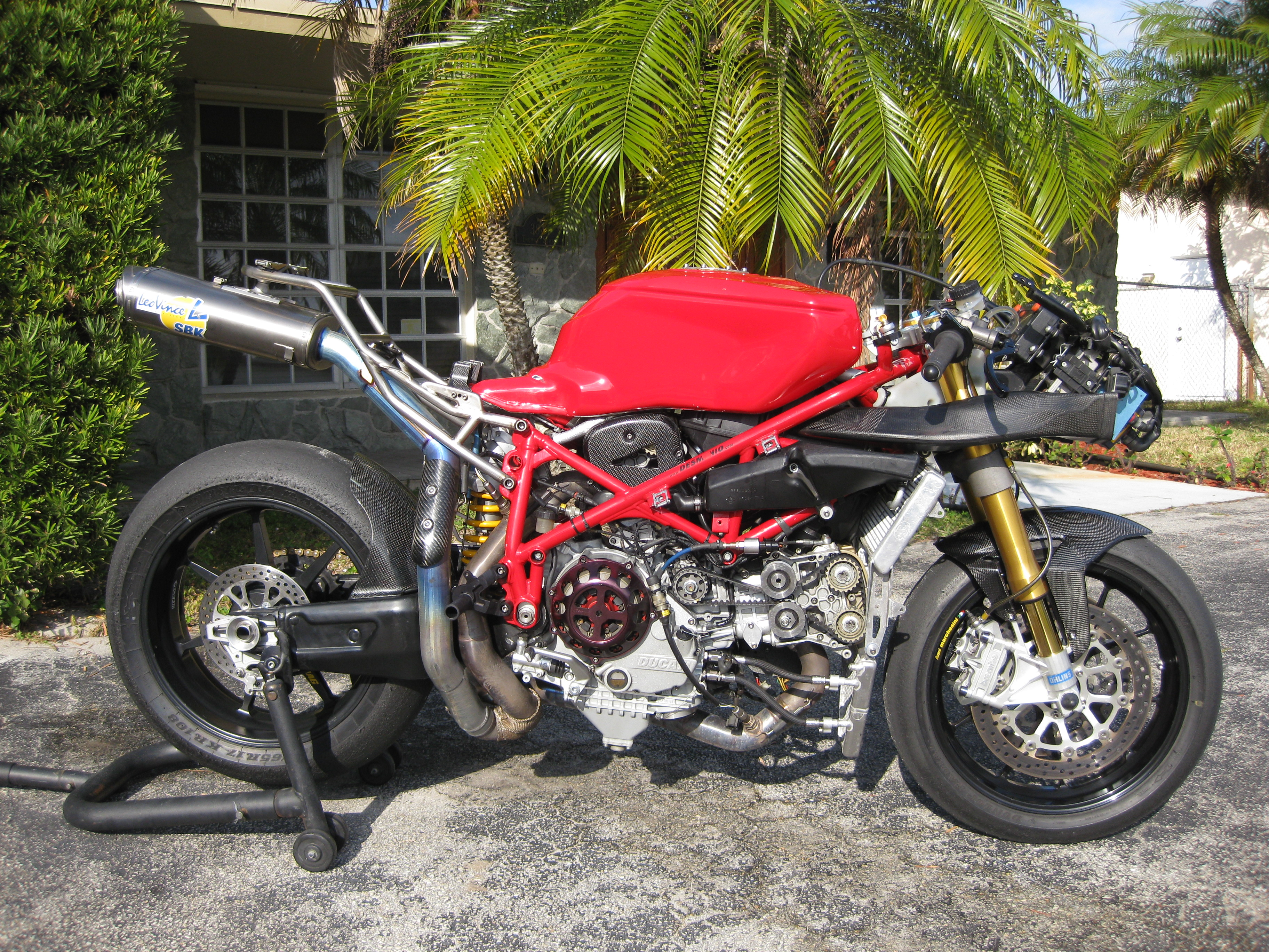 From Ducati Corse To Italian Supersport To Larry Pegram To