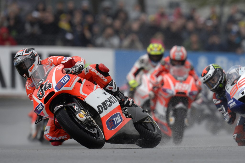 Dovi Leads The Field. Ducati Corse Photo