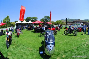 Ducati Monsters at the Quail Motorcycle Gathering