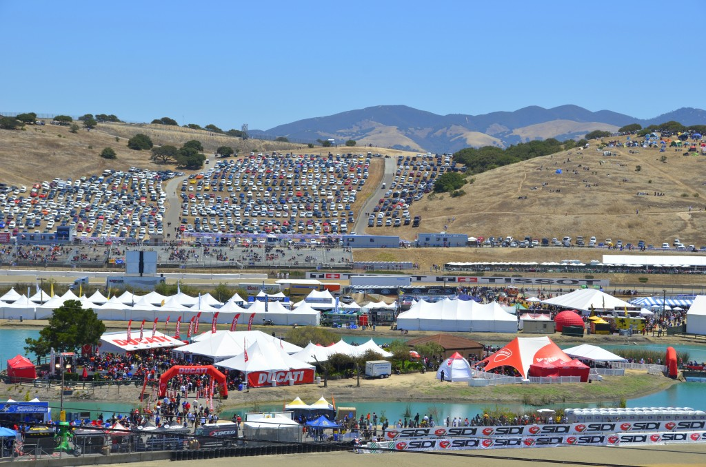 Ducati Island, Laguna Seca 2012 - Vicki Smith Photo
