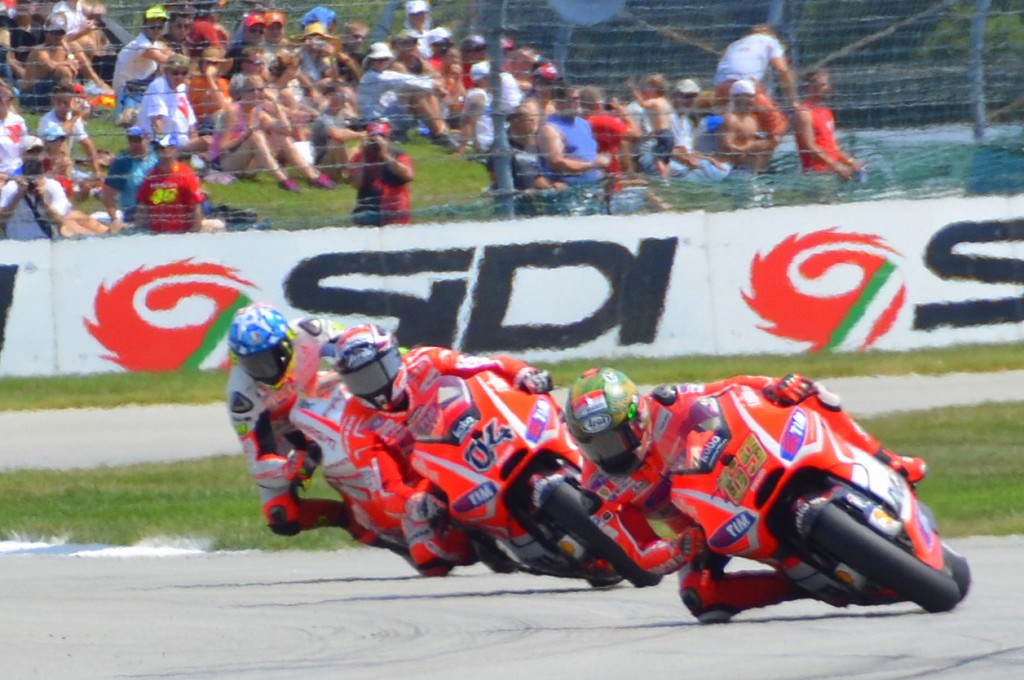 View from the Ducati Grandstand