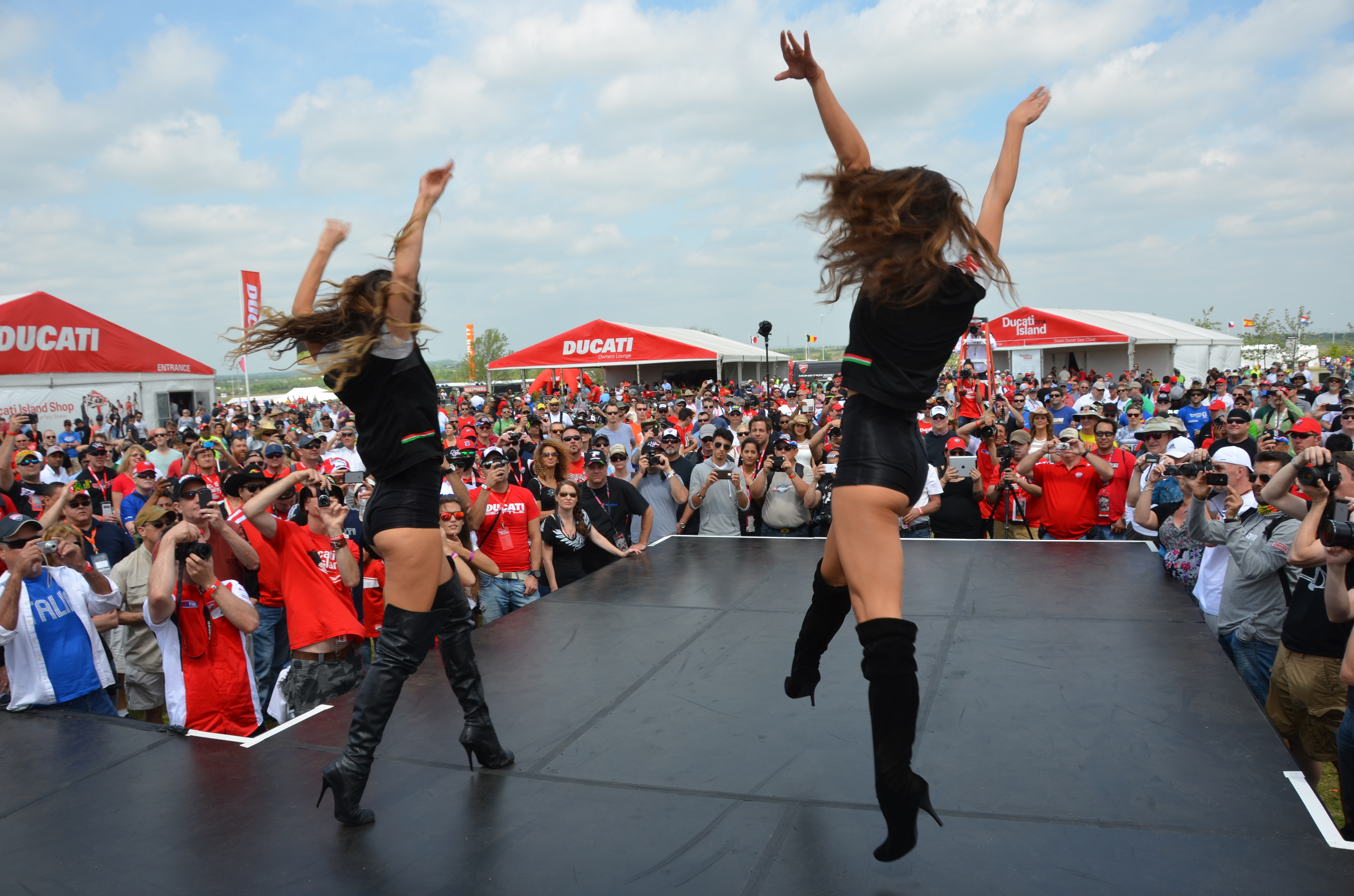 Ducati Island Is Back - Circuit Of The Americas 2015 ...