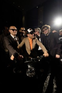 MIAMI BEACH, FL - DECEMBER 05: Italia Independent X Ducati Celebration of The Launch Of The Scrambler Ducati at The Setai Miami Beach on December 5, 2015 in Miami Beach, Florida. (Photo by Dimitrios Kambouris/Getty Images For Ducati)